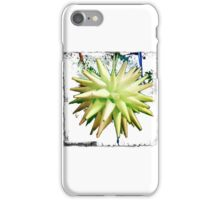 Bordered Paper Star Ball iPhone Case/Skin