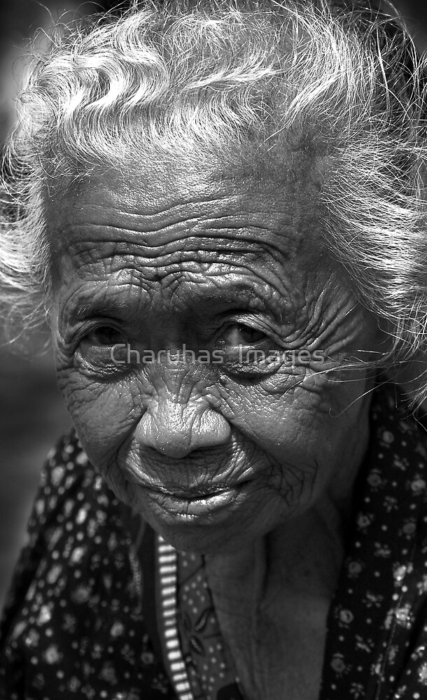 Old Lady by Charuhas  Images