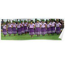 Tahitian Dancers  Poster