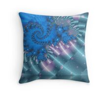 Dragon's Descent Throw Pillow