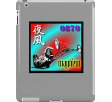 0870 MAYHEM SOAPBOX iPad Case/Skin