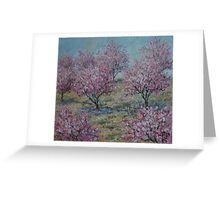 Apricot Trees Greeting Card