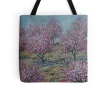 Apricot Trees Tote Bag