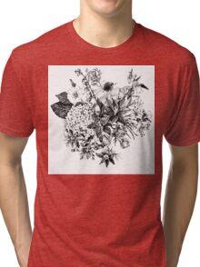 Foral composition Tri-blend T-Shirt