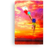 BALLOONDREAM, Charleston SC USA Canvas Print