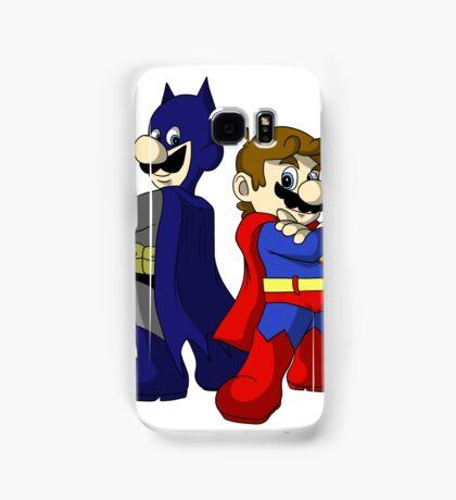 Mario Bros Super Heroes Samsung Galaxy Case/Skin