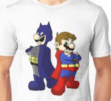 Mario Bros Super Heroes Unisex T-Shirt