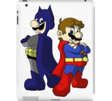 Mario Bros Super Heroes iPad Case/Skin