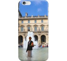 LOUVRE FOUNTAIN iPhone Case/Skin