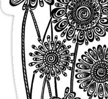 Gerber Daisies  Sticker