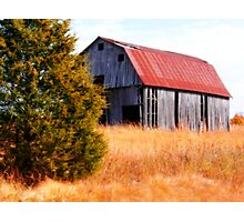 ~Arkansas Barn~ Photographic Print