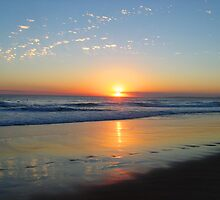 Sunset on Phillip Island by BlueFeather