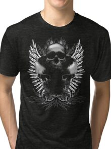 Ornate Skulls Tri-blend T-Shirt