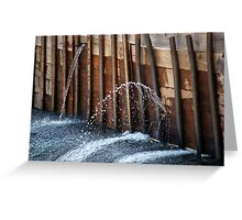 On The Brink Greeting Card