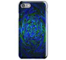 Blue & Green Swirl iPhone Case/Skin