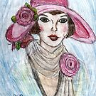 Flapper In A Pink Hat by RobynLee