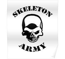 Skeleton Army Poster