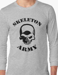 Skeleton Army Long Sleeve T-Shirt