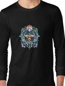 Unique floral vintage accessories tee design Long Sleeve T-Shirt