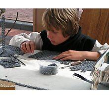 Medieval craft guild apprentice Photographic Print