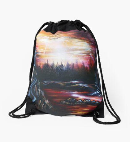 Nightmare's End Drawstring Bag