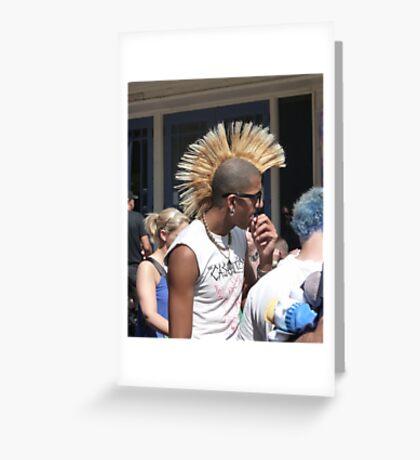 PUNK FESTIVAL 1 Greeting Card