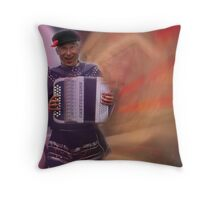Polka Man 2 - Time Portal Throw Pillow