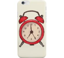 Alarm Clock iPhone Case/Skin