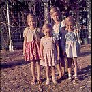 Batchelor  me and 3 of my sisters by catherine walker