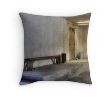 Lonely Sunday Throw Pillow
