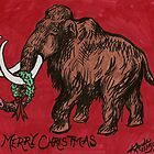 Mammoth Christmas Card by Kat Anderson