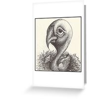 Pointy Duck Greeting Card