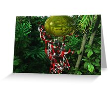 "Planet ""Gloss"": Inhabitants Greeting Card"