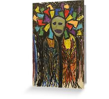 Apostles of Black sunshine Greeting Card