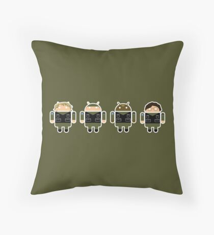 Droidarmy: Stargate SG-1 Throw Pillow