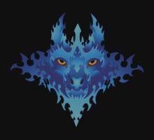 Lunar Wolf Fire by Windsmane