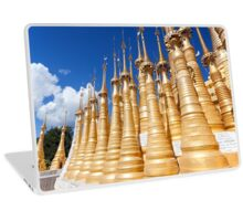 Indein Temple, Inle Lake, Myanmar Laptop Skin