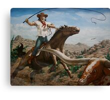 longhorn master Canvas Print
