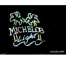 A Neon Quencher Photographic Print
