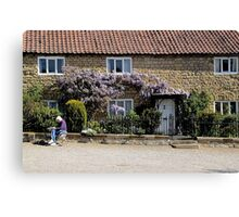 Coxwold Cottage Canvas Print