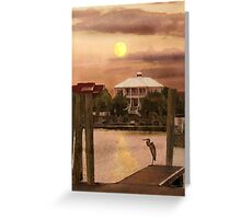 Evening Glow / South Carolina  / Greeting Card