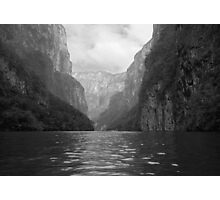 Sumidero canyon in Mexico Photographic Print