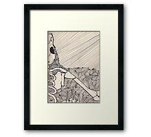 The Raven Framed Print