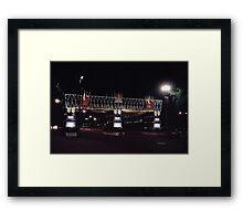 A Coronation Street Framed Print