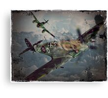 Dogfight Shoot Down Canvas Print