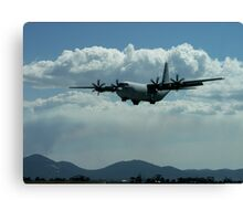 C130 Hercules - Australian International Airshow 2005 Canvas Print