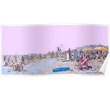OC Beach Scene Poster