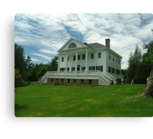 Uniacke House Canvas Print