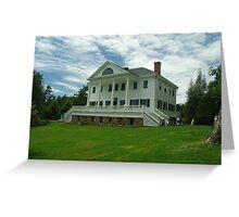 Uniacke House Greeting Card