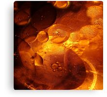 Oil buttons Canvas Print